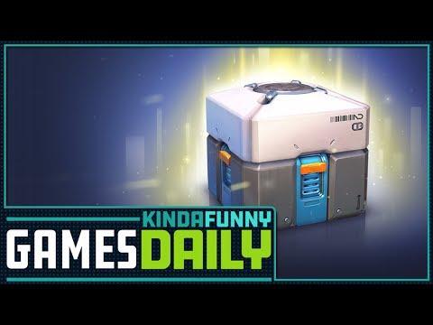Loot Boxes Aren't Gambling Says ESRB - Kinda Funny Games Daily 10.11.17