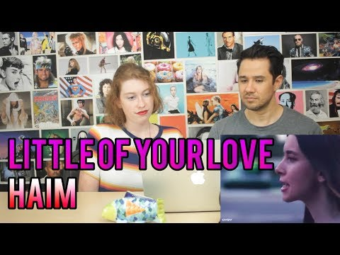 HAIM - Little of Your Love - REACTION