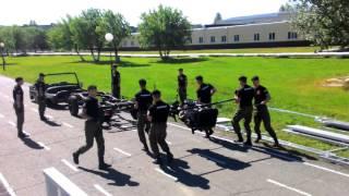 Разборка УАЗа курсантами ОАБИИ