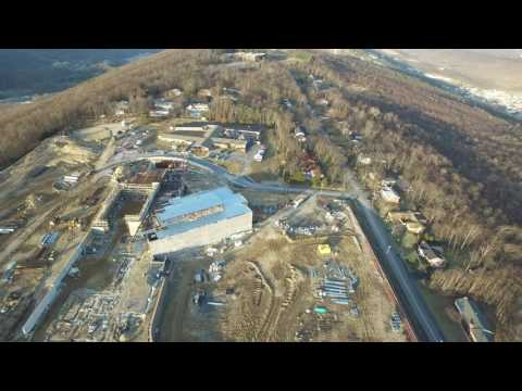 DJI Inspire 1 Drone Two Schools, Bishop Walsh and the Future Allegany High School, Cumberland, Md 4k