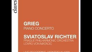 Svjatoslav Richter - Edvard Grieg: Concerto en La mineur, Op. 16 Pour Piano & Orchestre (Live)