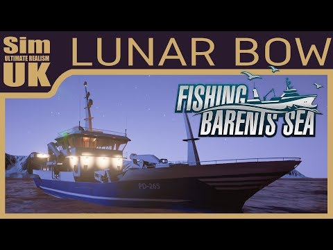(Fixed Audio) Deep Sea Trawling with the Lunar Bow   Fishing Barents Sea