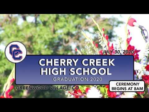 Cherry Creek High School Graduation     2020