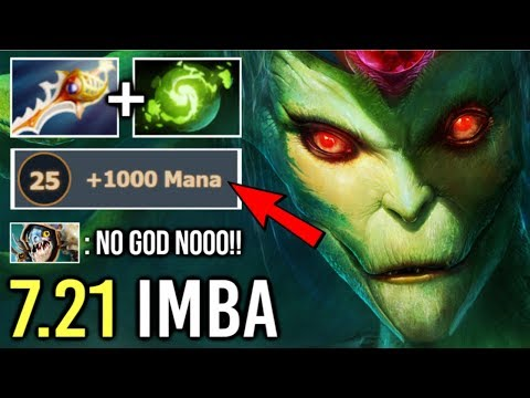 OMG! BEST HERO 7.21 Medusa +1000 Mana Talent Is OP Crazy Imba Gameplay By Bryle Dota 2