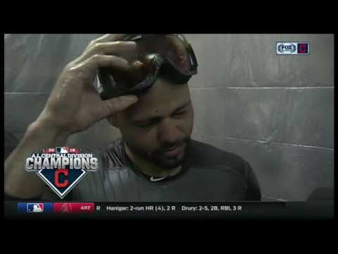 Coco Crisp is thankful for another chance at the postseason with the Cleveland Indians