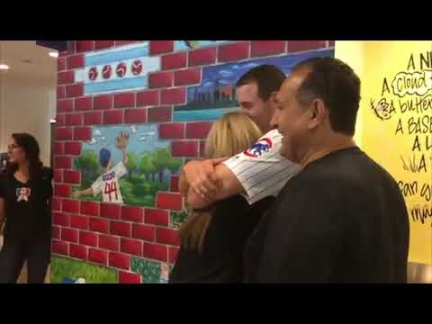 Teary-eyed Anthony Rizzo donates $3.5M to Lurie Children's hospital