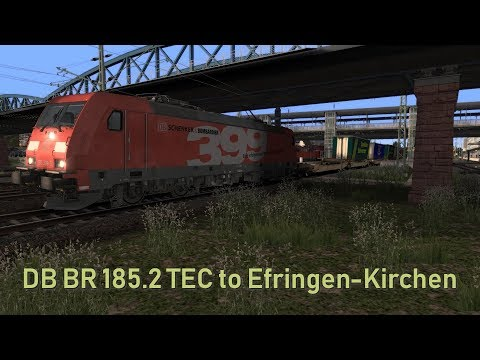 DB BR 185.2 TEC to Efringen-Kirchen |