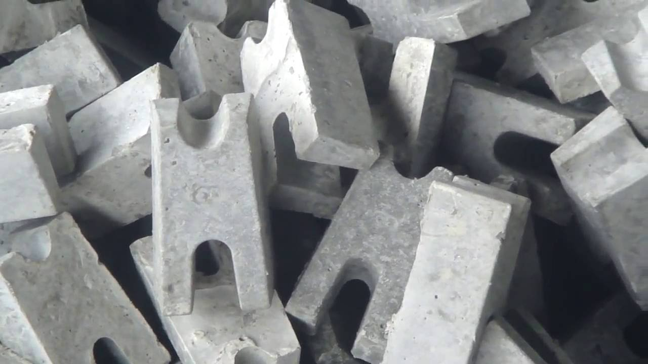 rebar concrete spacers plastic moulds making youtube