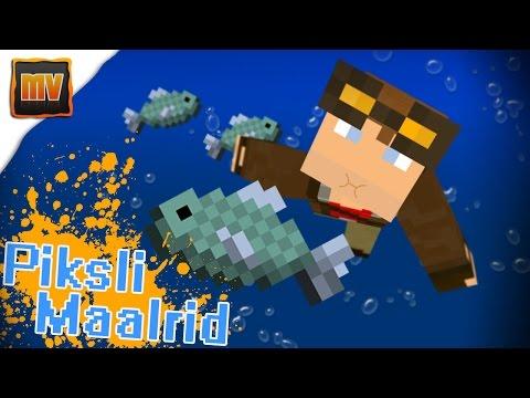 Piksli Maalrid - Kala (Minecraft minimängud)