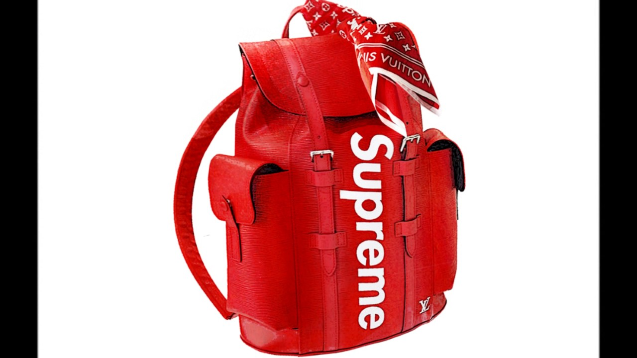 Louis Vuitton X Supreme Backpack Real
