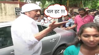 Jackie Shroff gets angry on Public during Pran