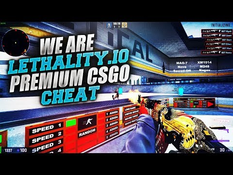 CSGO] Lethality io | Internal | VAC-MM Proof | Legit/Rage |