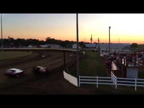 Lee County Speedway 8-4-17 sport Mods