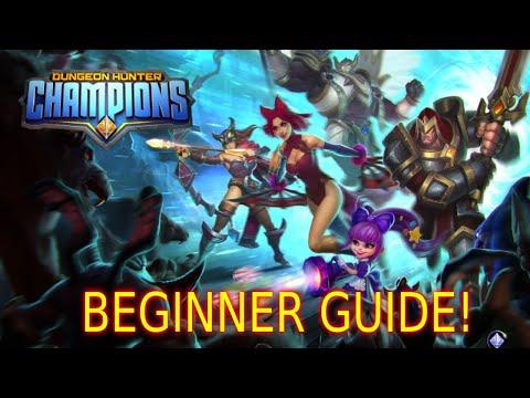 Dungeon Hunter Champions Beginner Guide (2020)