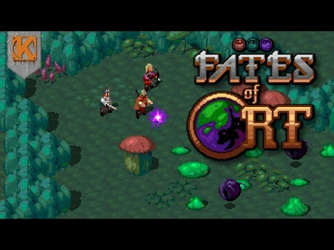 Fates Of Ort | RETRO OPEN WORLD RPG | Gameplay Showcase - Part 1