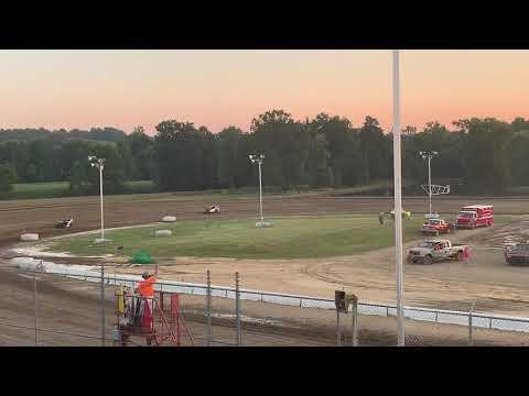 Muskingum County Speedway 7-20-19 Hotlaps Vivian Jones #20M