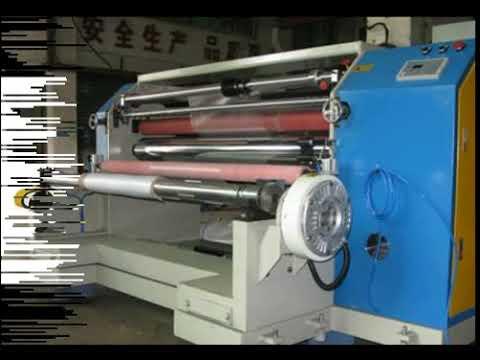 aluminium roll slitting machine price