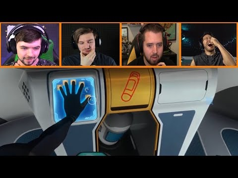 Let's Players Reaction To Leaving A Time Capsule For Other Players | Subnautica