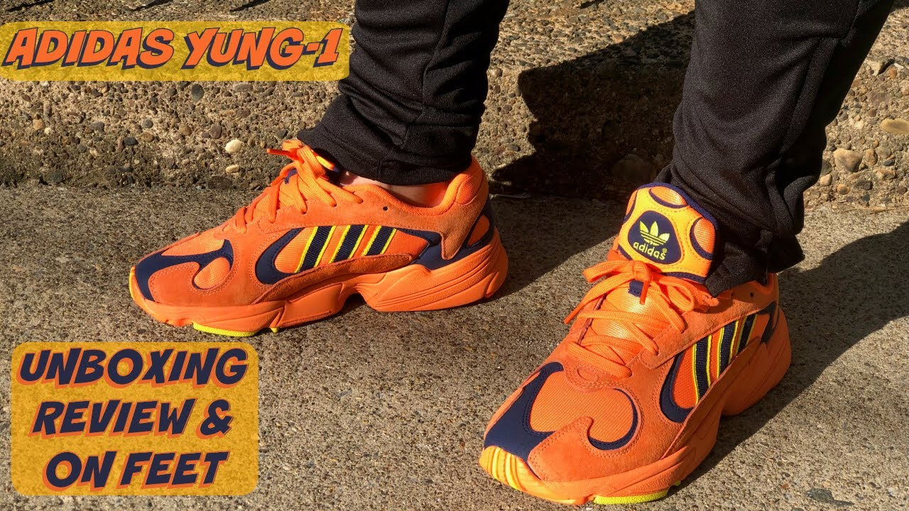 newest collection 9e11b f9a00 HONEST REVIEW OF THE ADIDAS YUNG-1 HI-RES ORANGE!!! REVIEW + ON FOOT LOOK  OF THE ADIDAS YUNG-1!!!