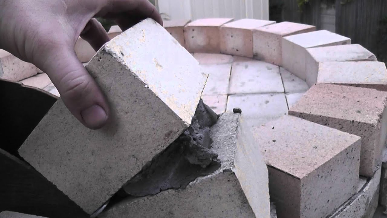 Fire Brick Mortar Problem Youtube