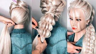 Красивые ПРИЧЕСКИ на Длинные Волосы на 1 сентября в школу. Hairstyles for Long Hair ©LOZNITSA