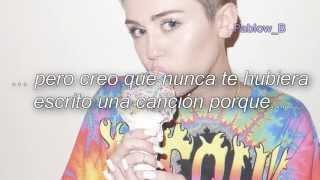 Miley Cyrus - BB Talk (Subtitulada al español)