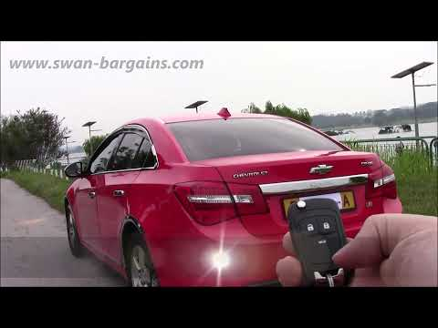 Installation of Universal Car Trunk Lifter Spring on Chevrolet Cruze (HD)