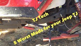 5 Worst Jeep TJ Upgrades