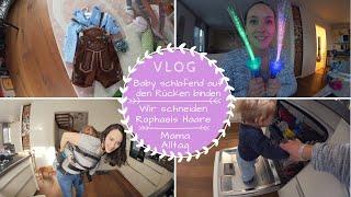 Wir schneiden Raphaels Haare ab  Hausgeburtsvideo veröffentlichen  Mama Alltag  Kathis Daily Life
