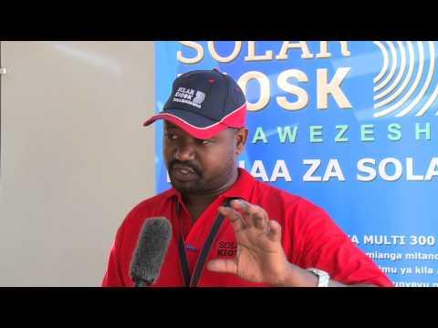 SOLARKIOK Inauguration Event in Kimbiji (Tanzania)