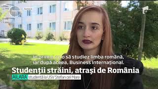 Studenţii străini sunt atraşi de facultăţile din România