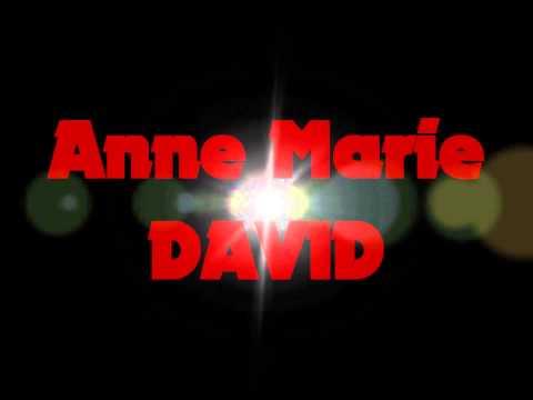 Annonce concert Anne Marie David à l'Alhambra vidéo N°2