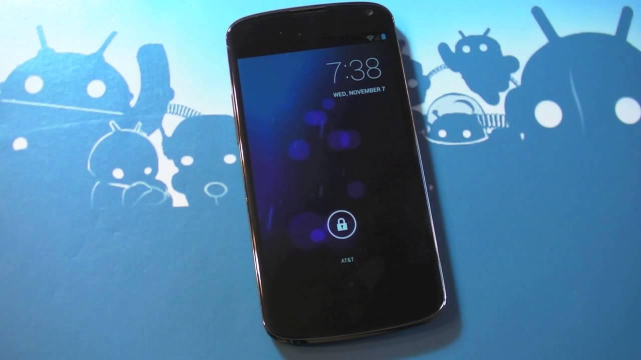 Nexus 4 boot logo