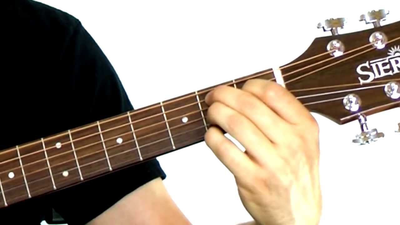 Beginning Guitar Chords 101 Lesson 6 B7 Chord Youtube