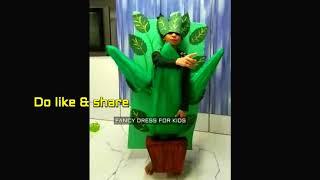 Lady finger vegetable fancy dress speech/ fancy dress for kids