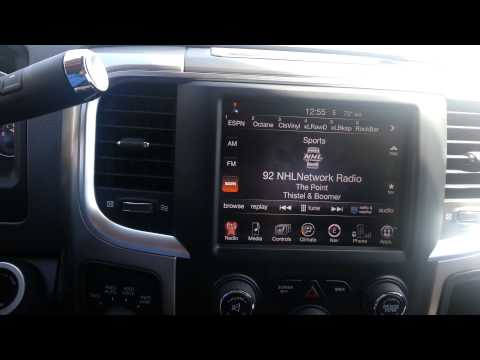 2013 Ram 1500, 8.4A upgraded to Navigation
