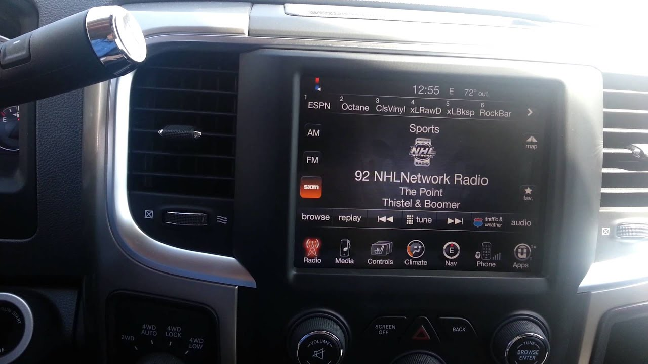 2013 Ram 1500 8 4a Upgraded To Navigation Youtube