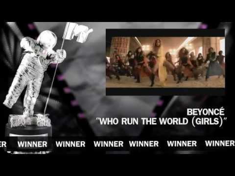 VMA 2012 - The winners