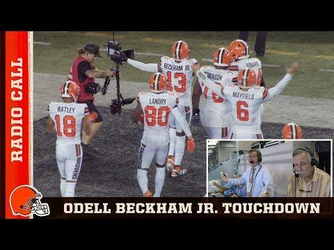 Jim Donovan Calls OBJ's Incredible 89-Yd TD vs. Jets | Cleveland Browns