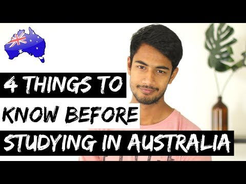 4 THINGS To KNOW Before STUDYING IN AUSTRALIA | International Student