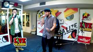 smiley ft are you anywhere insomnii profm live session