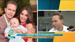 Baixar Manuel Velasco asegura que su segundo bebé es una bendición