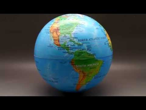 Magic Revolving World Globe