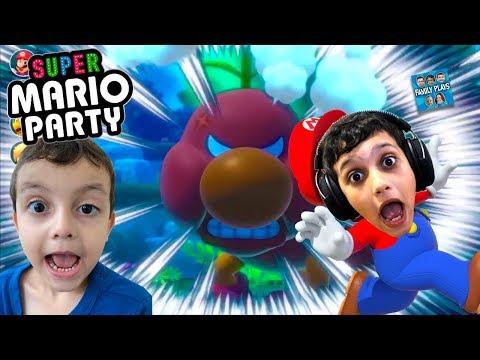 VAMOS JOGAR Super Mario Party (Nintendo Switch) - Family Plays