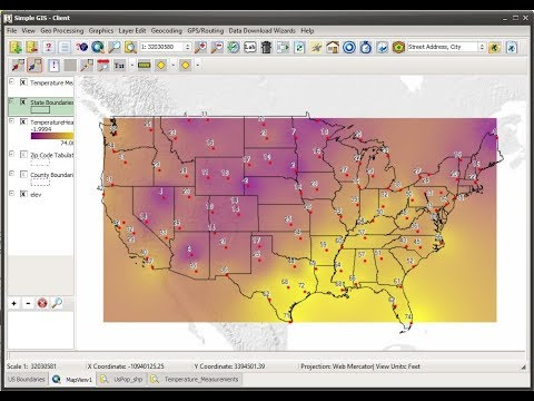 Generating Heat Maps In Simple Gis Youtube
