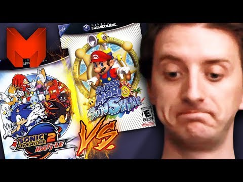 The BEST GameCube Games? Super Mario Sunshine vs Sonic Adventure 2 Battle - Madness