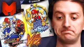 The BEST GameCube Games? Super Mario Sunshine vs Sonic Adventure 2 Battle - Madness