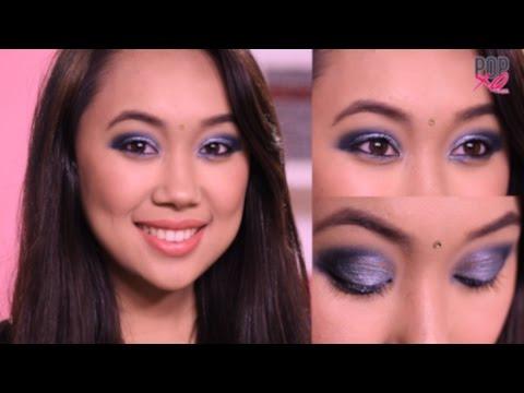 Glitter Eye Makeup Tutorial For Weddings | Indian Wedding Makeup