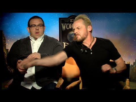 THE WORLD'S END Interviews: Simon Pegg, Nick Frost and Edgar ...