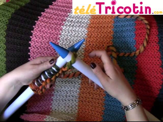 Tricoter un snood au point de riz ... {DIY}  Tisser Pâtisser